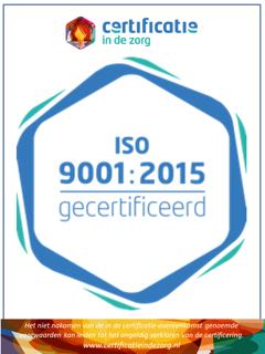 Certificatie in de zorg - ISO 9001-2015 gecertificeerd - Zorgmuiters